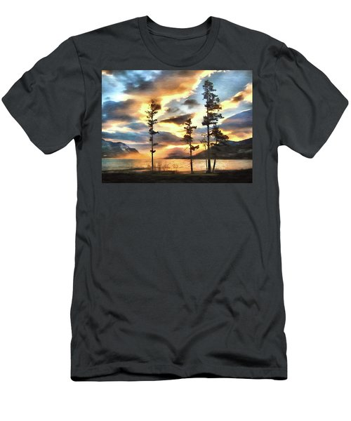 Men's T-Shirt (Slim Fit) featuring the photograph Anniversary by Kathy Bassett