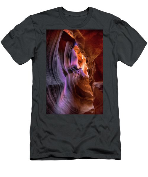 Antelope Canyon #6 Men's T-Shirt (Slim Fit) by Phil Abrams