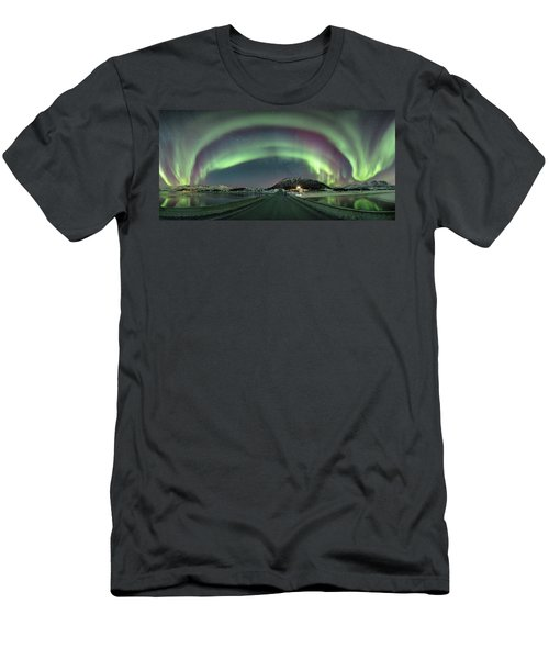 Aurora Panoramic Men's T-Shirt (Athletic Fit)