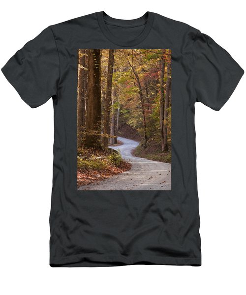 Autumn Drive Men's T-Shirt (Athletic Fit)