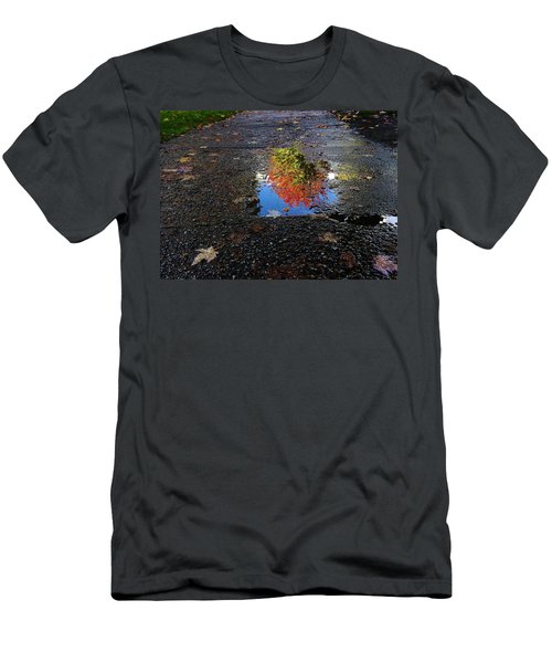 Autumn Reflections Men's T-Shirt (Slim Fit)