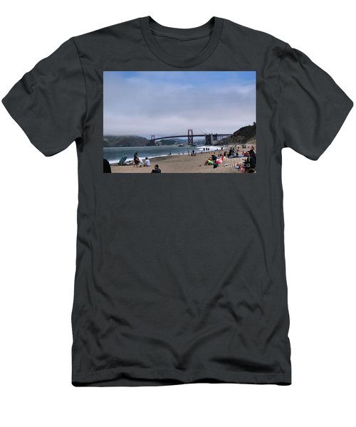 Baker Beach Men's T-Shirt (Athletic Fit)