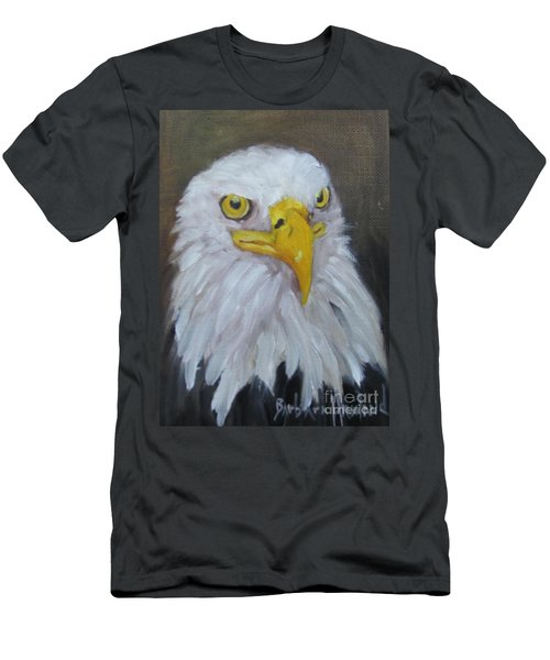 Bald Eagle Men's T-Shirt (Slim Fit)