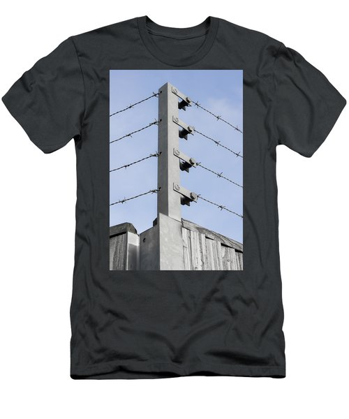 Barbed Wire Fence Men's T-Shirt (Athletic Fit)