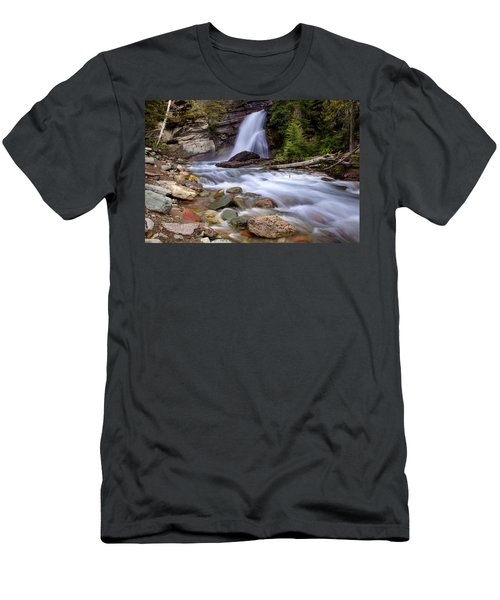 Baring Falls Men's T-Shirt (Slim Fit) by Jack Bell
