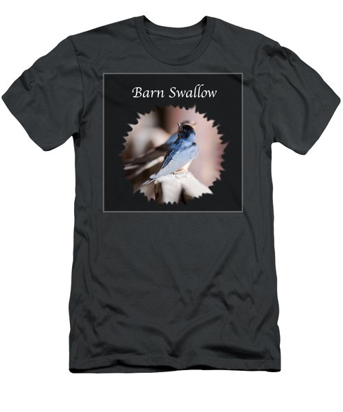 Barn Swallow Men's T-Shirt (Slim Fit) by Jan M Holden