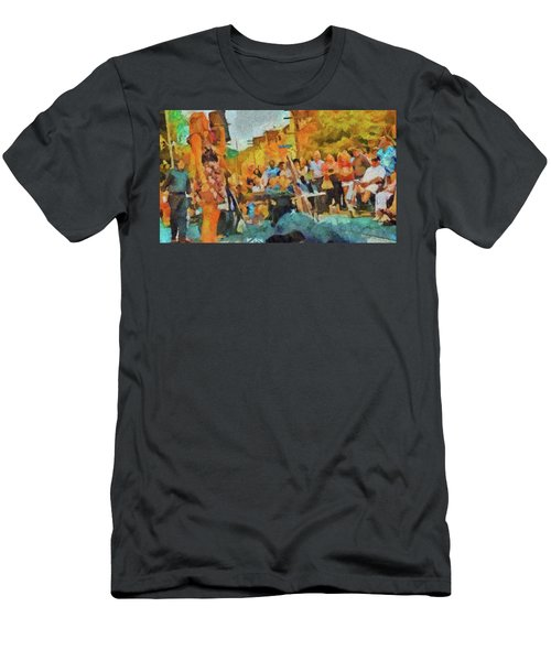 Beaches Jazz Festival Men's T-Shirt (Athletic Fit)