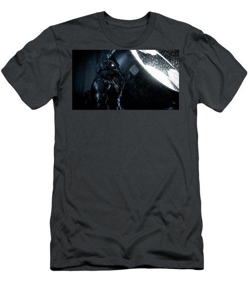 Ben Affleck As Batman Men's T-Shirt (Athletic Fit)