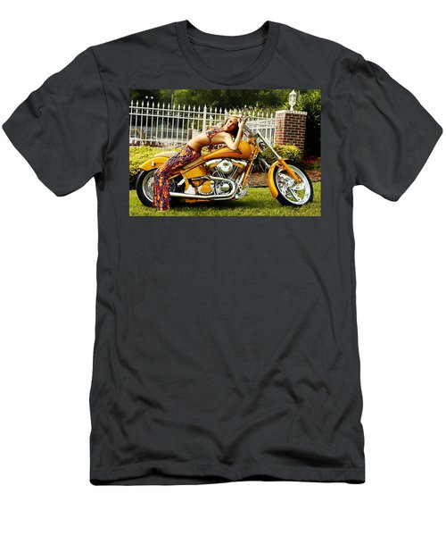 Bikes And Babes Men's T-Shirt (Athletic Fit)
