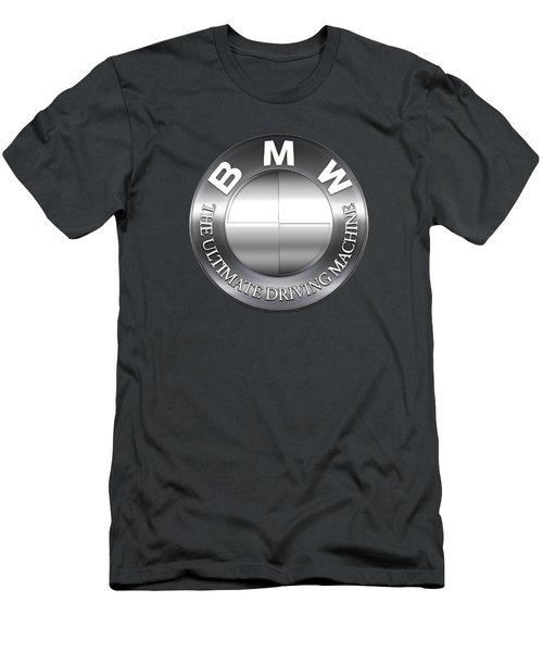 Bmw Logo Men's T-Shirt (Athletic Fit)