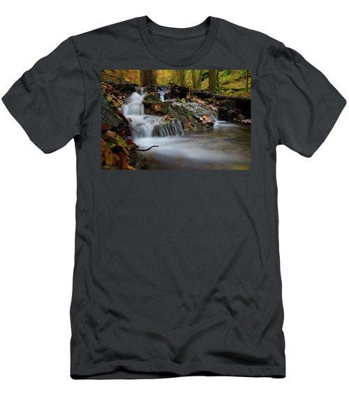 Bodetal, Harz Men's T-Shirt (Slim Fit) by Andreas Levi