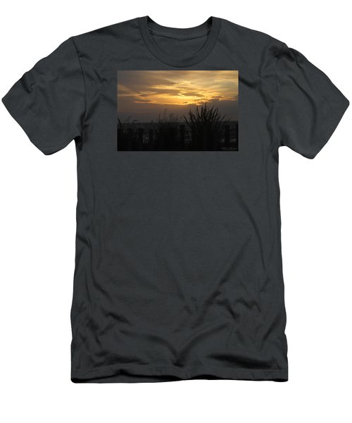 Men's T-Shirt (Slim Fit) featuring the photograph Breaking Dawn by Robert Banach