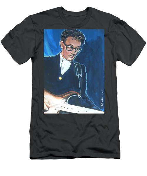 Buddy Holly Men's T-Shirt (Athletic Fit)