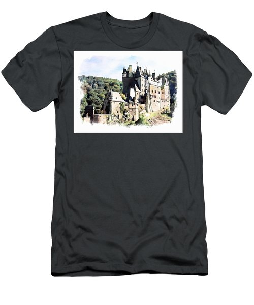 Burg Eltz - Moselle Men's T-Shirt (Athletic Fit)