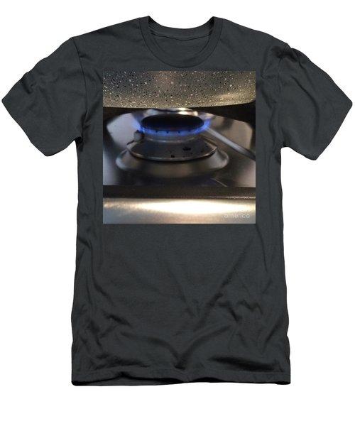 Burn  Men's T-Shirt (Athletic Fit)