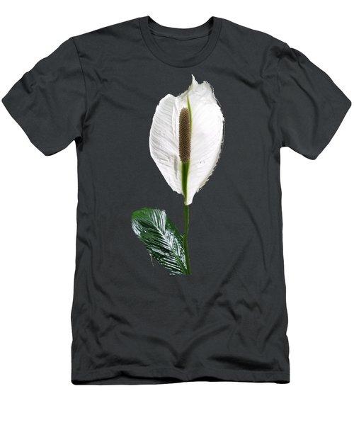Calla Lily Men's T-Shirt (Slim Fit) by Pamela Walton