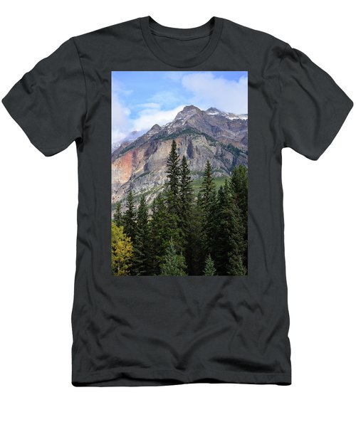 Canadian Rockies No. 2-1 Men's T-Shirt (Athletic Fit)