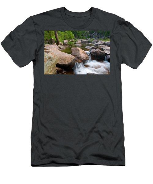 Castor River Shut-ins Men's T-Shirt (Slim Fit) by Steve Stuller