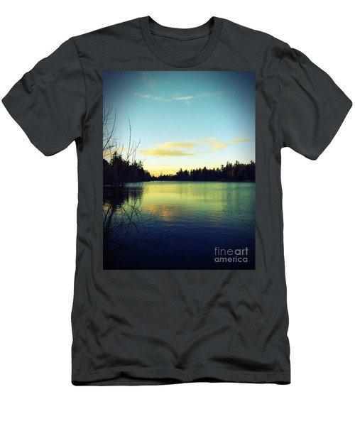 Center Of Peace Men's T-Shirt (Athletic Fit)