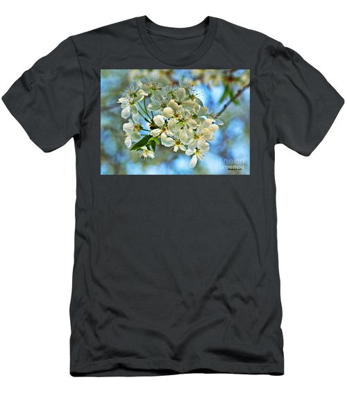 Cherry Tree Flowers Men's T-Shirt (Athletic Fit)