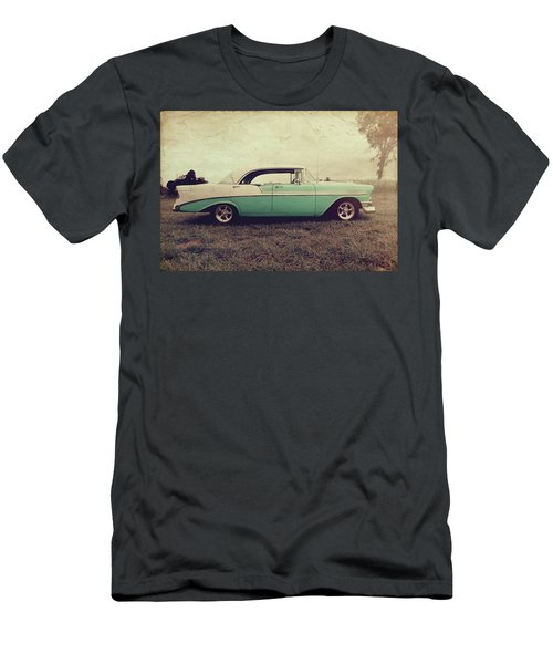 Men's T-Shirt (Slim Fit) featuring the photograph Chevy Bel Air by Joel Witmeyer