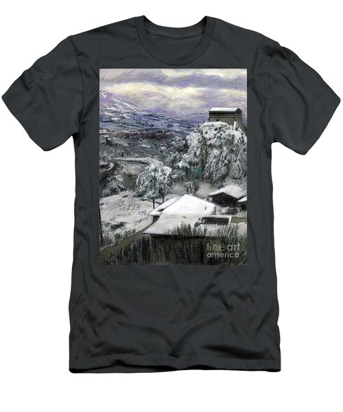 Chiesa San Vito In The Snow Men's T-Shirt (Athletic Fit)