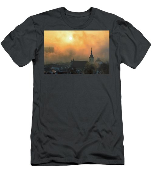 Church Of Our Lady Victorious, Prague, Czech Republic. Men's T-Shirt (Athletic Fit)