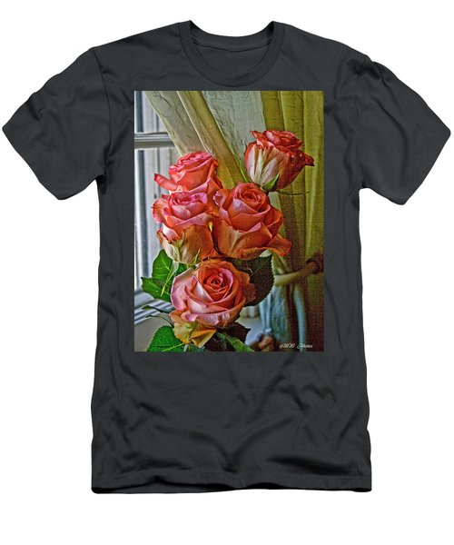 Cindy's Roses Men's T-Shirt (Athletic Fit)