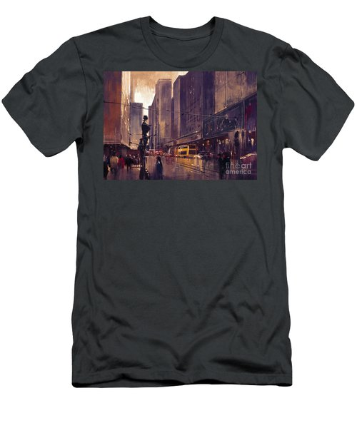 City Street Men's T-Shirt (Athletic Fit)
