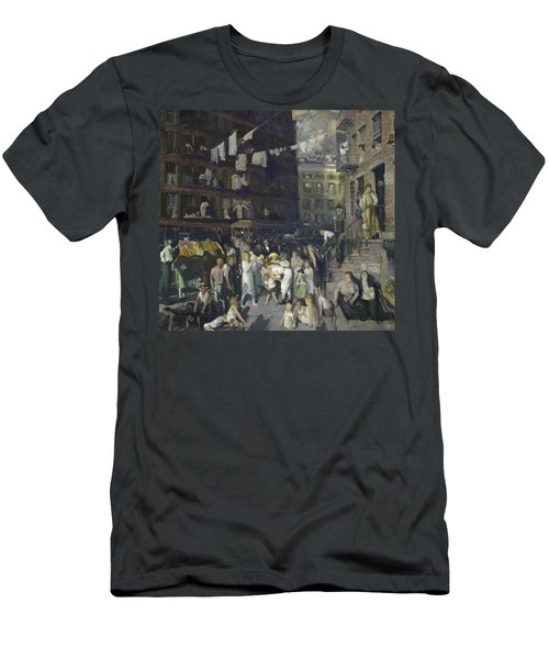 Cliff Dwellers Men's T-Shirt (Athletic Fit)
