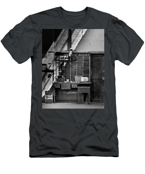 Clocked Out Men's T-Shirt (Slim Fit) by Jeffrey Jensen