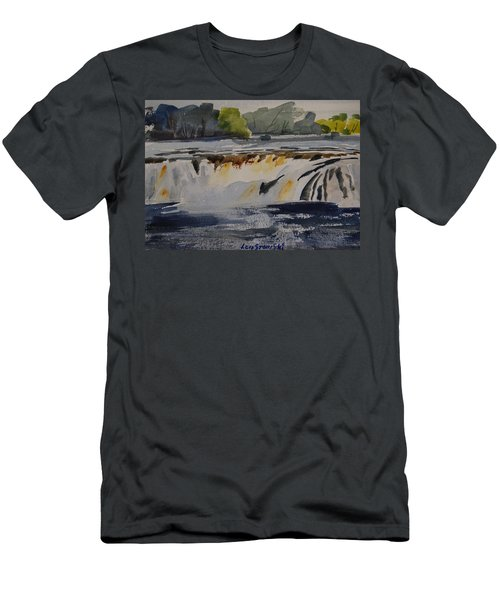 Cohoes Falls Study 2 Men's T-Shirt (Athletic Fit)