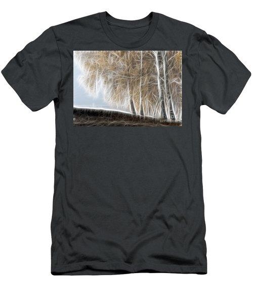 Colorful Misty Forest Men's T-Shirt (Athletic Fit)