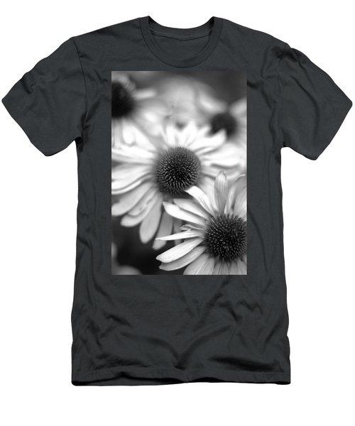 Cone Flower 7 Men's T-Shirt (Slim Fit) by Simone Ochrym