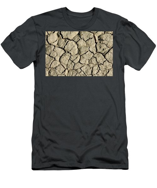 Men's T-Shirt (Athletic Fit) featuring the photograph Cracking by Brandy Little