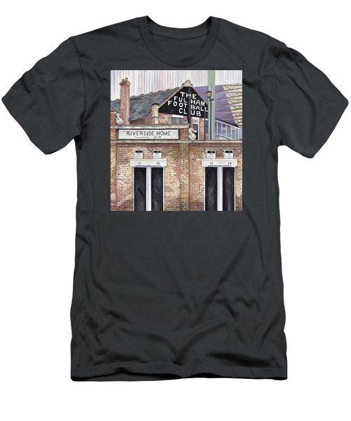 Craven Cottage Men's T-Shirt (Slim Fit) by Scott Nelson