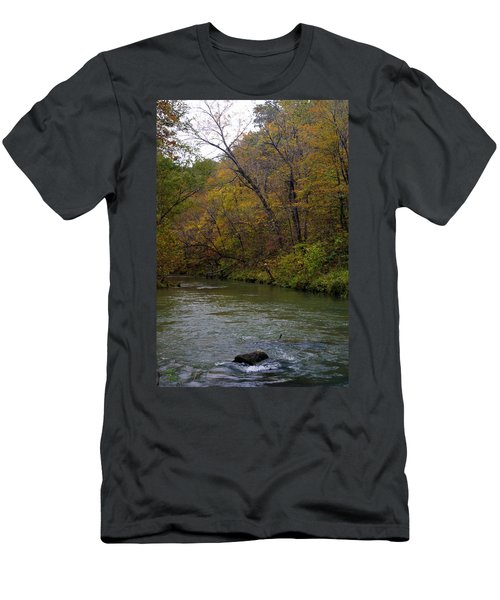 Current River 8 Men's T-Shirt (Athletic Fit)