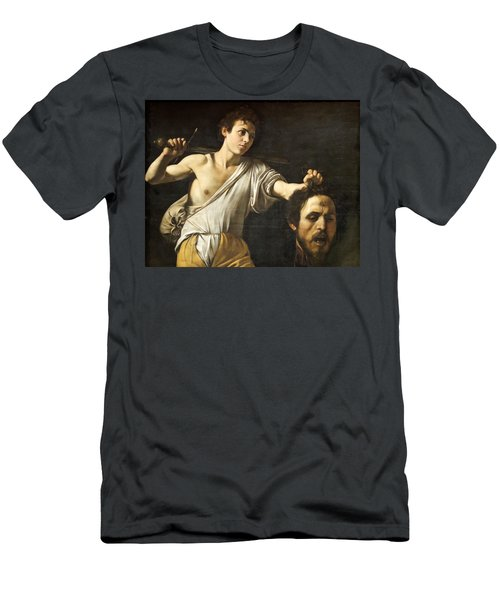 David With The Head Of Goliath Men's T-Shirt (Athletic Fit)