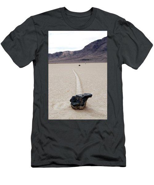 Death Valley Racetrack Men's T-Shirt (Athletic Fit)