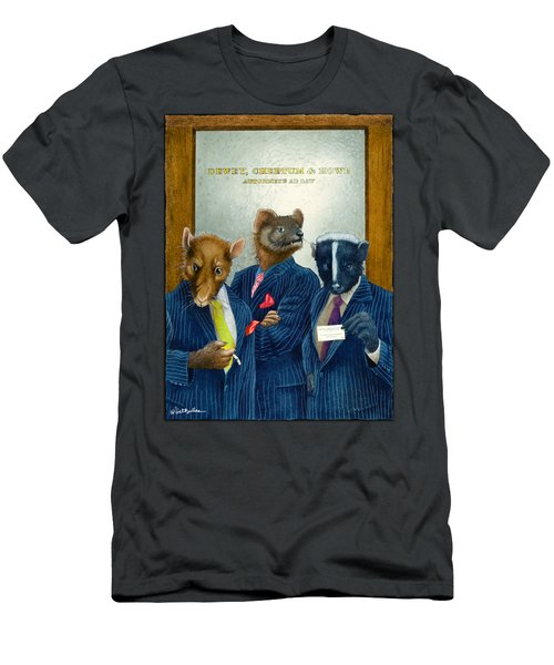 Dewey, Cheetum And Howe... Men's T-Shirt (Athletic Fit)