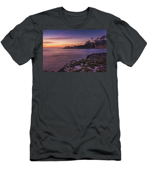 Diver's Cove Sunset Men's T-Shirt (Athletic Fit)