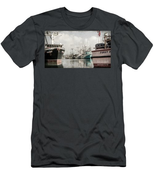 Docked At The Bay Men's T-Shirt (Athletic Fit)