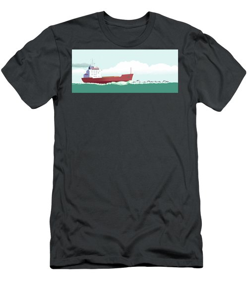 Dolphin Dance Men's T-Shirt (Athletic Fit)