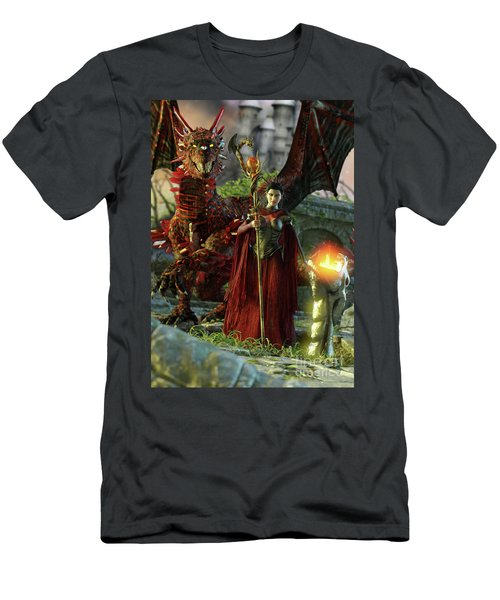 Dragon Queen Men's T-Shirt (Athletic Fit)