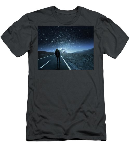 Dreams Men's T-Shirt (Slim Fit) by Berebel Co By Angel Caulin
