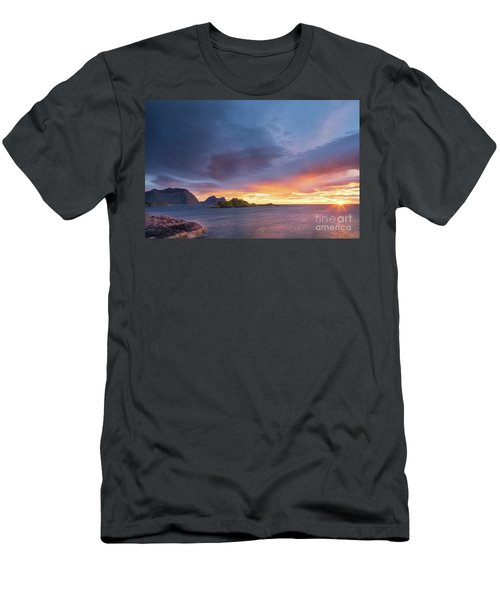 Dreamy Sunset Men's T-Shirt (Slim Fit) by Maciej Markiewicz