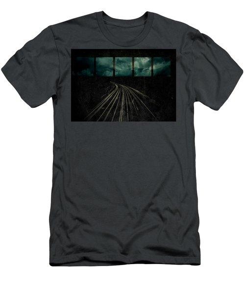 Drifting Men's T-Shirt (Athletic Fit)