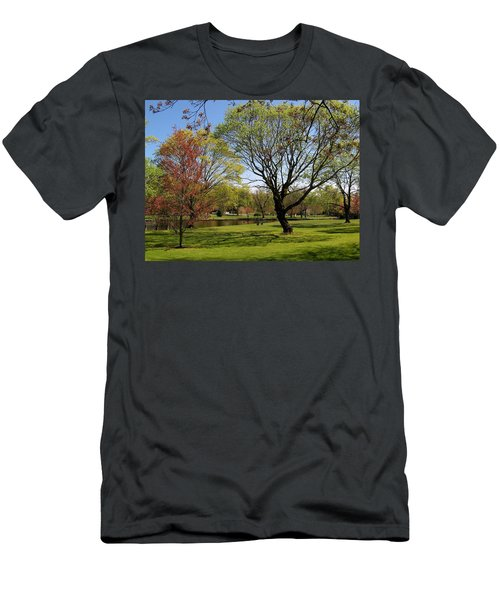 Men's T-Shirt (Slim Fit) featuring the photograph Early Spring by John Scates