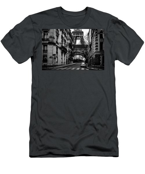 Only In Paris Men's T-Shirt (Athletic Fit)