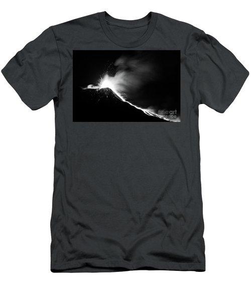 Etna, The Volcano Men's T-Shirt (Athletic Fit)